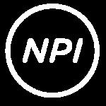 NPI White Logo