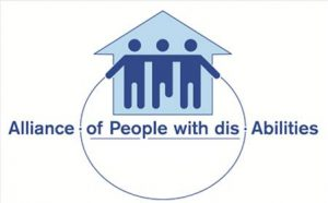 Alliance of People with Disabilities Logo
